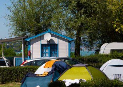 Mirabella Camping vízparti szállás