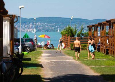 Mirabella Camping szállás vízpart