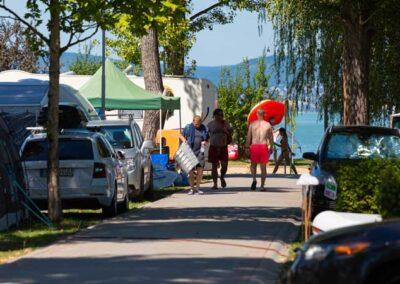 Mirabella Camping lakókocsi parcella