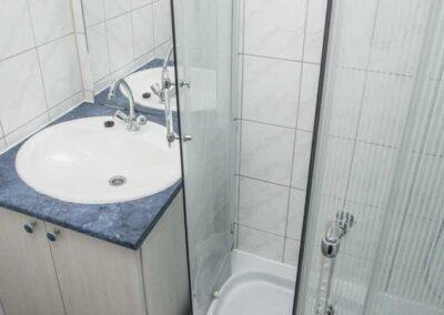 Szállás Star mobilház fürdőszoba